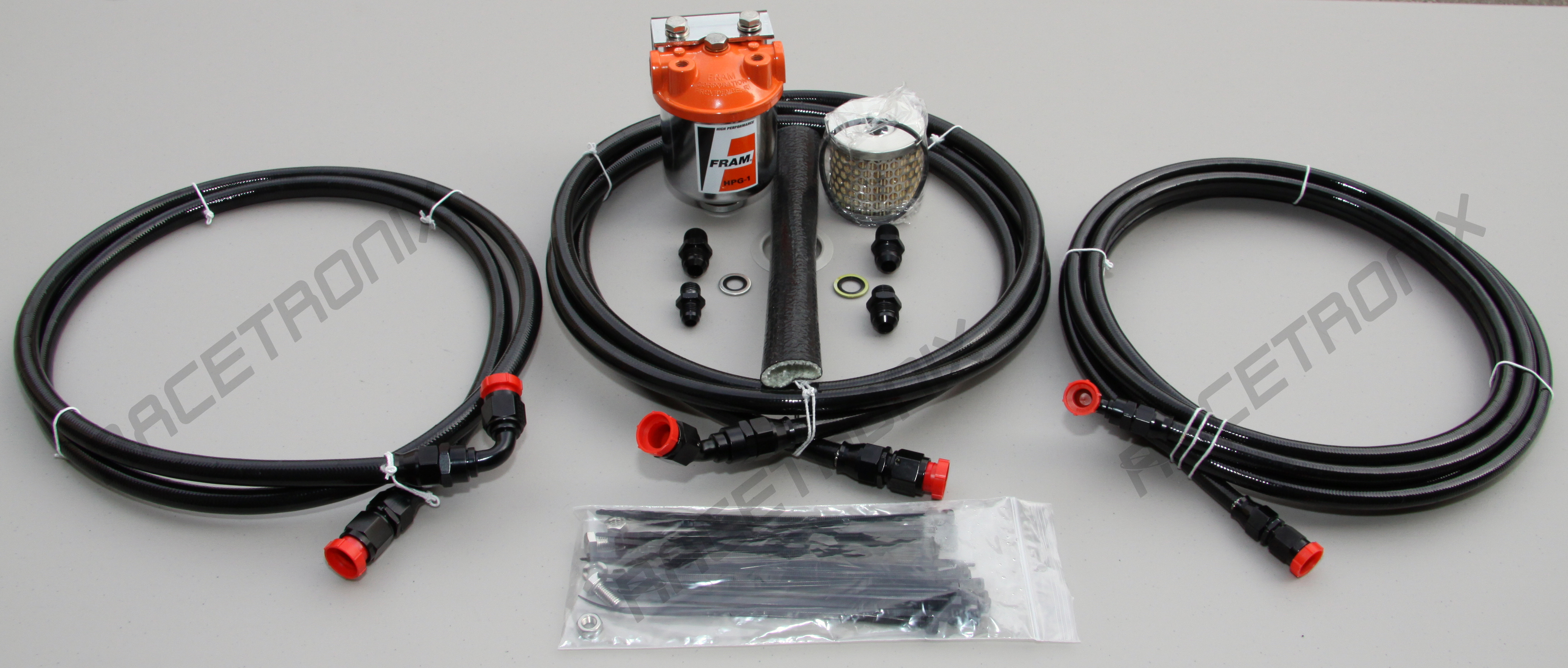 Racetronix Teflon E85 Gas Fuel Line Kit Performance Filter Fram After Testing Many Housings And Elements We Have Found That The Type Housing Fitted With Awix Element Provides Superior
