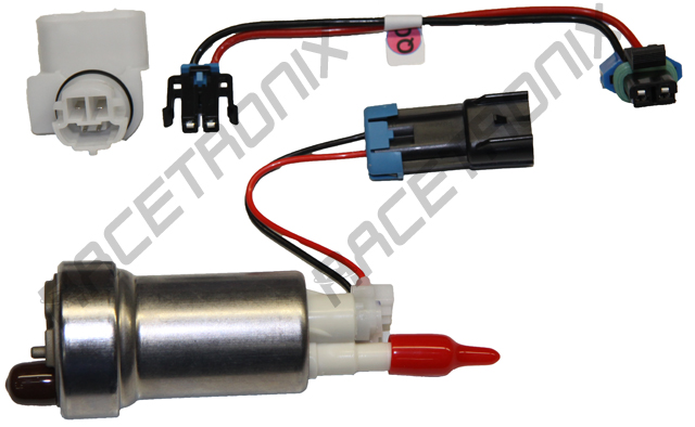 new e85 compatible in tank wiring harnesses racetronix rh racetronix com Fuel Pump Connections Ford Fuel Pump Wiring Diagram