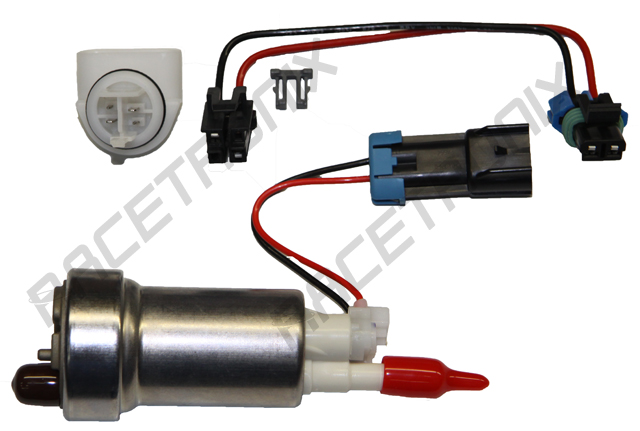 new e85 compatible in tank wiring harnesses racetronix rh racetronix com Ford Fuel Pump Wiring Diagram Fuel Pump Circuit